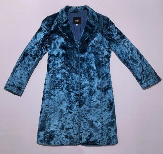 Versace Jeans Couture Blue Coat