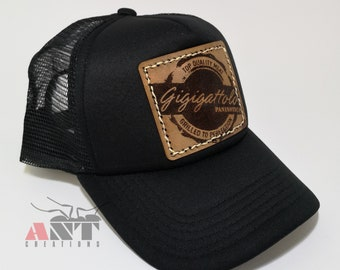 890917b0e77 Personalized Hat with leather insert