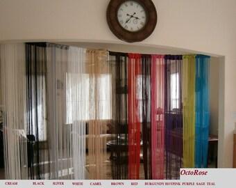 Room Divider Curtain Etsy