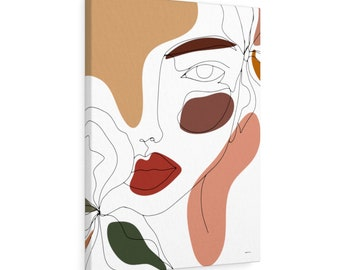 Sweet Soul Abstract Modern Canvas