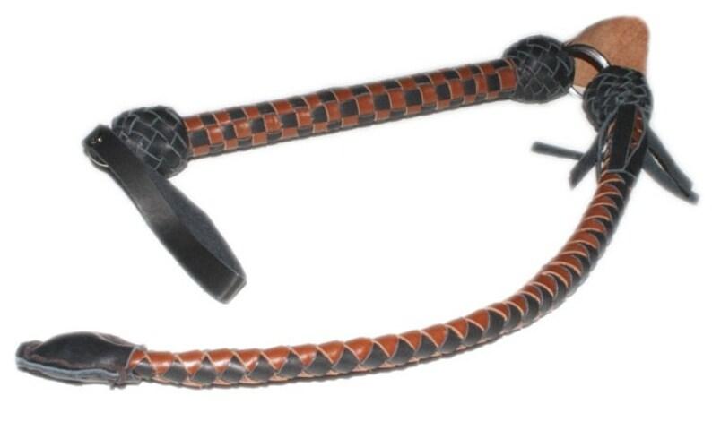 Cossack whip Leather Nagayka Don Skiba Whip