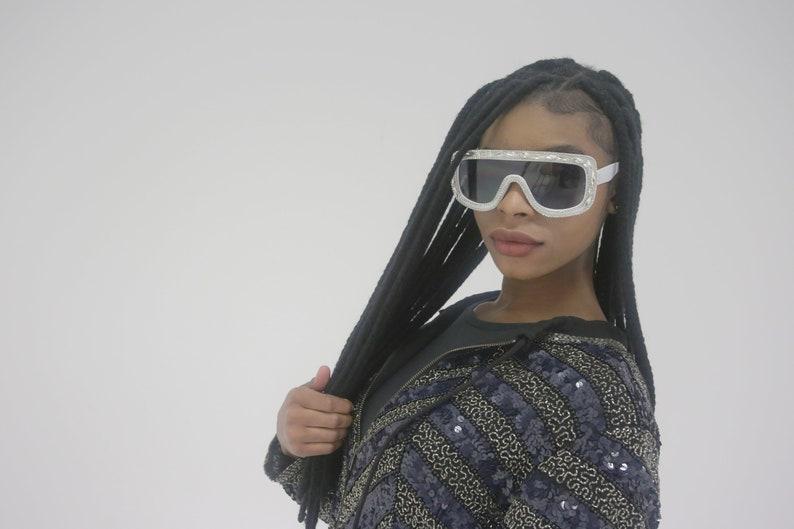 Just gem Fashion unique diamond uv400 sunglasses