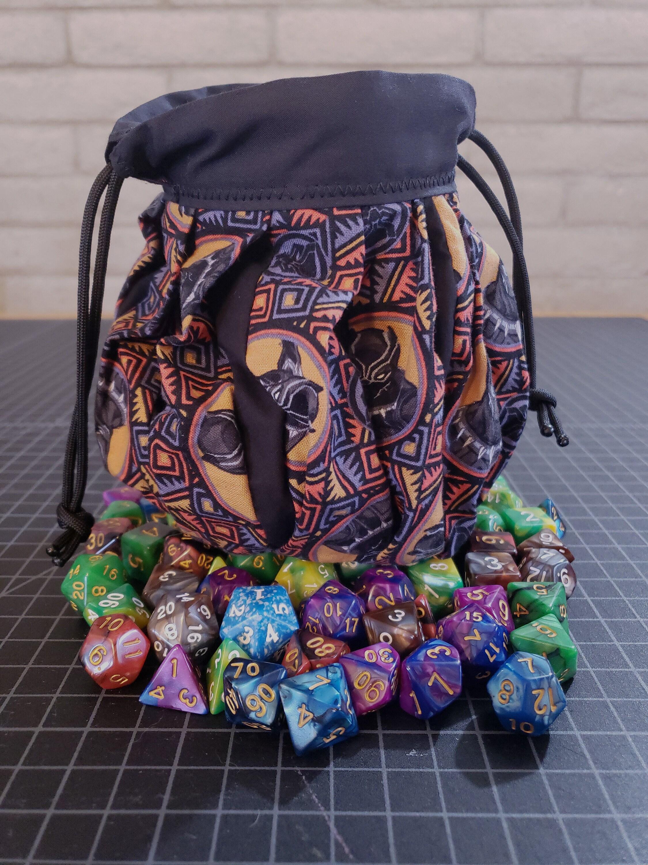 Valor Embroidered Dice Bag Warhammer DnD Pathfinder