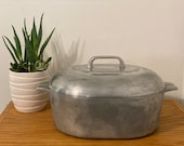 Vintage Wagner Ware Sidney -0- Magnalite 8 Qt. 4265 P Aluminum Roaster Roasting Baking Pot 4