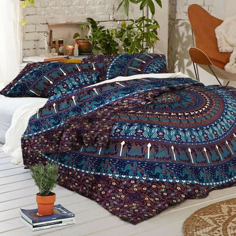 Quilt Covers Indian Mandala Duvet Cover King/Twin/Queen Size image 0