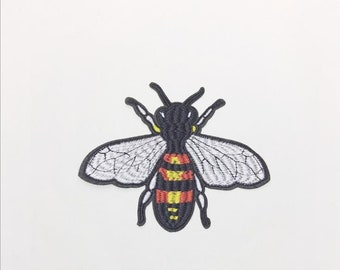 d83fdc9f7 Bee embroidery patch 9*11CM/3.5*4.3 inches