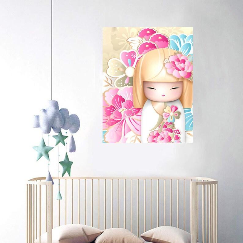 Full Diamond Painting DIY 5D Cartoon Girl Cross Stitch Diamond Embroidery Pattern Rhinestone Diamond Mosaic Decoration