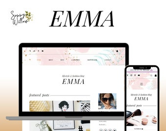 Wix Blog Theme, Wix Blog Template, Wix Blog Website, Wix Shop Website, Wix Fashion Theme, Wix Lifestyle Template, Wix Small Business Website