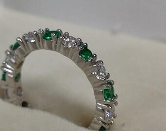 91d7c602fcc45 2 ct aquamarine ring | Etsy
