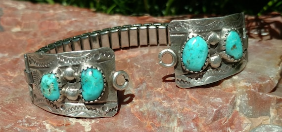 Turquoise Native American watch band, Watches, Tur