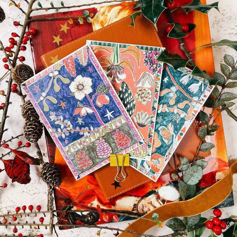 Christmas Card Set 6 Cards 2020 Christmas Card Charity Etsy