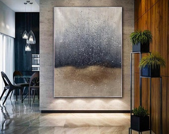large oil painting abstract,large abstract canvas art,office wall art canvas,abstract painting original large,living room painting H409
