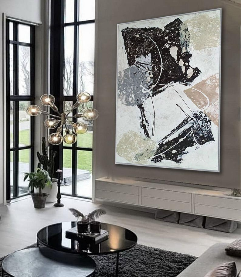 abstract oil painting on canvas,abstract acrylic painting,original canvas painting,oversized wall art canvas,large canvas art abstract H350