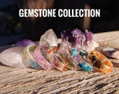 Gemstone Collection (Each Ring Sold Separately)