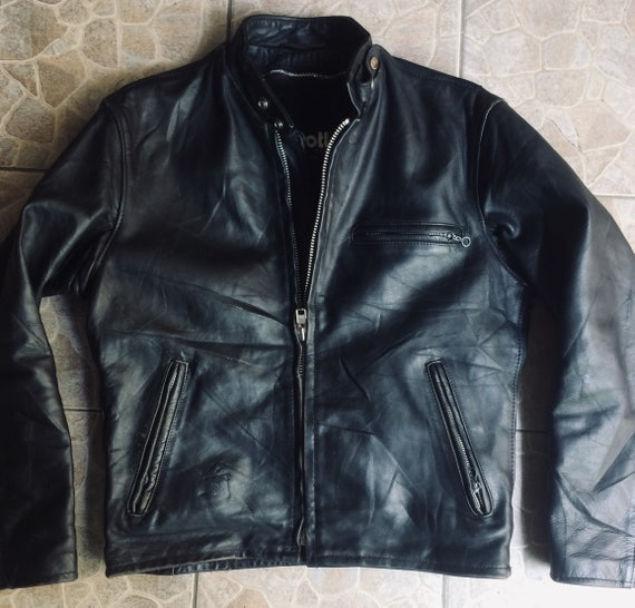 Schott 641 leather jacket size 40