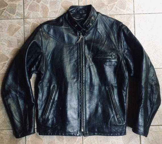 Schott 641 leather jacket size 38