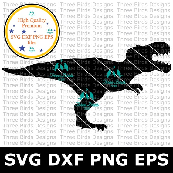 Trex Svg Trex T Rex Cricut Dinosaur Svg Three Rex Dino Etsy