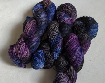 Wandering Moon | Hand-dyed yarn, fingering and worsted weights