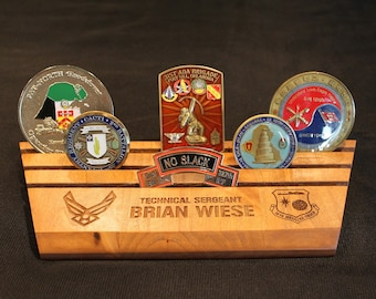 Military coin holder | Etsy