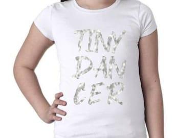 Tiny Dancer T-Shirt - Baby Ballet Long Island T-Shirt