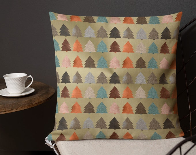 HOLIDAY Decorative THROW PILLOW Christmas Home Decor Decorative Pillow for Home Christmas Decor Home and Living Premium Pillow Square Pillow