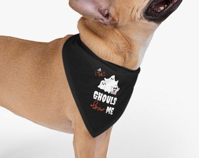 HALLOWEEN DOG COLLAR Pet Bandana Collar for Dogs Cute Funny Ghost Bandana for Pets Halloween Accessories Dog Clothing Dog Accessories Collar
