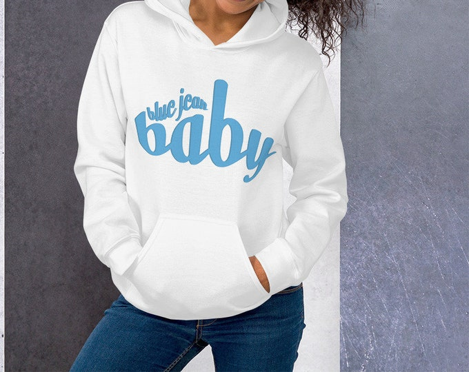 Blue Jean Baby Inspired Hooded Sweatshirt for Men or Women HOODIE Statement Clothing UNISEX Back to School Gift for Her Statement Hoodie