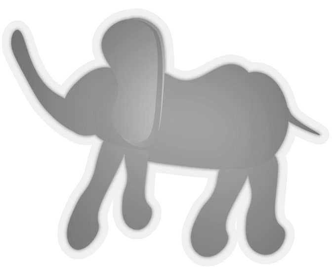 ELEPHANT STICKER CUT Out Kiss-Cut Stickers Scrapbooking and Card Making Baby Books Decorative Stickers Invitations Party Favors and more!
