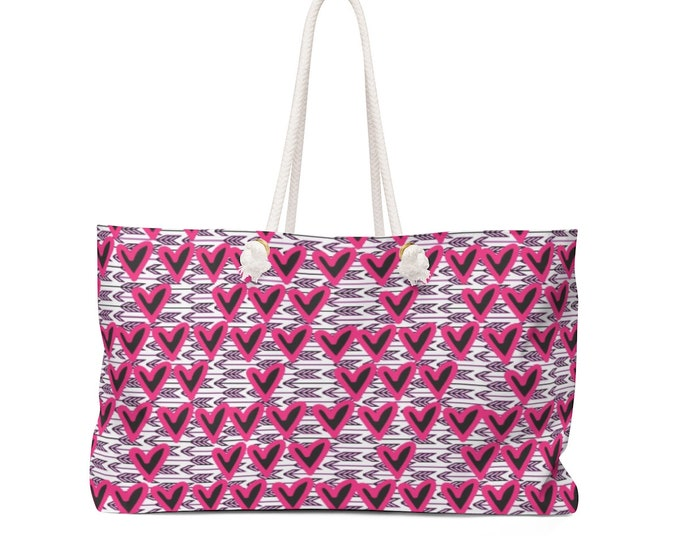 BEACH BAG Purple Ombre Tote Weekender Bag Teal Ombre Oversized Tote Bag Travel Bag Travel Tote Yoga Bag Gym Bag Gift for Her Summer Tote Bag