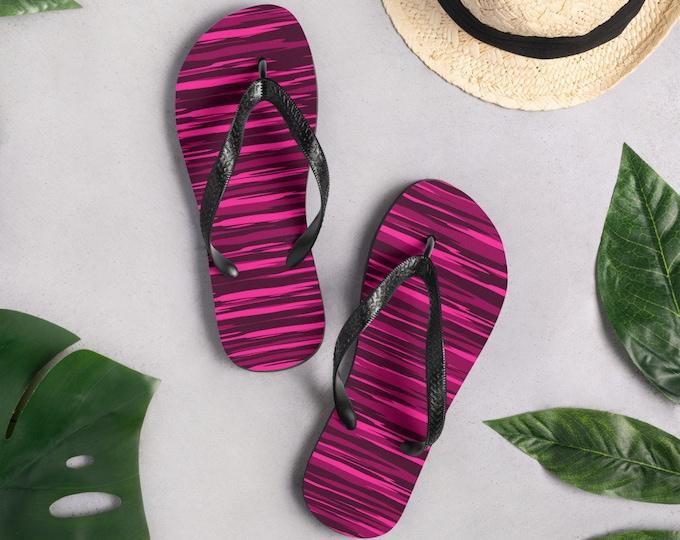 FLIP-FLOPS Thong SANDALS Womens Beach Flip-Flops Camo Flip Flops Beach Accessories Pool Flip Flops Footwear Summer Shoes Rave Flip Flops