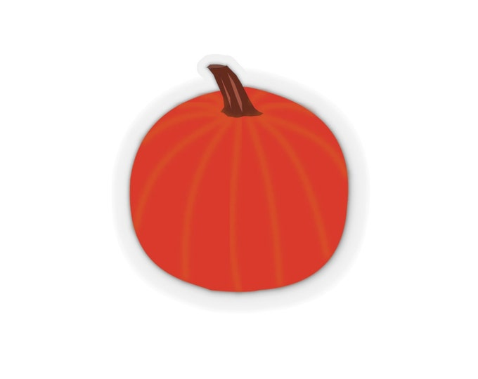 FALL PUMPKIN STICKER Halloween Kiss-Cut Stickers Fall Stickers Thanksgiving Stickers Stationary Crafts Arts and Paper Gifts Card Making