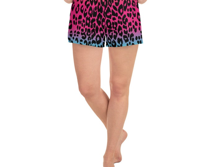 Cheetah SHORTS WOMENS Workout Clothing Women's Athletic Short Shorts Gym Shorts for Women Yoga BOTTOMS Running Shorts Sleep Shorts Casual