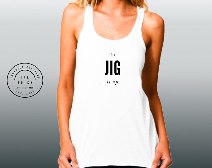 STATEMENT TANK TOP Womens Statement Clothing Work Out Tank Top Yoga Top Next Level 6733 Ladies' Triblend Racerback Tank