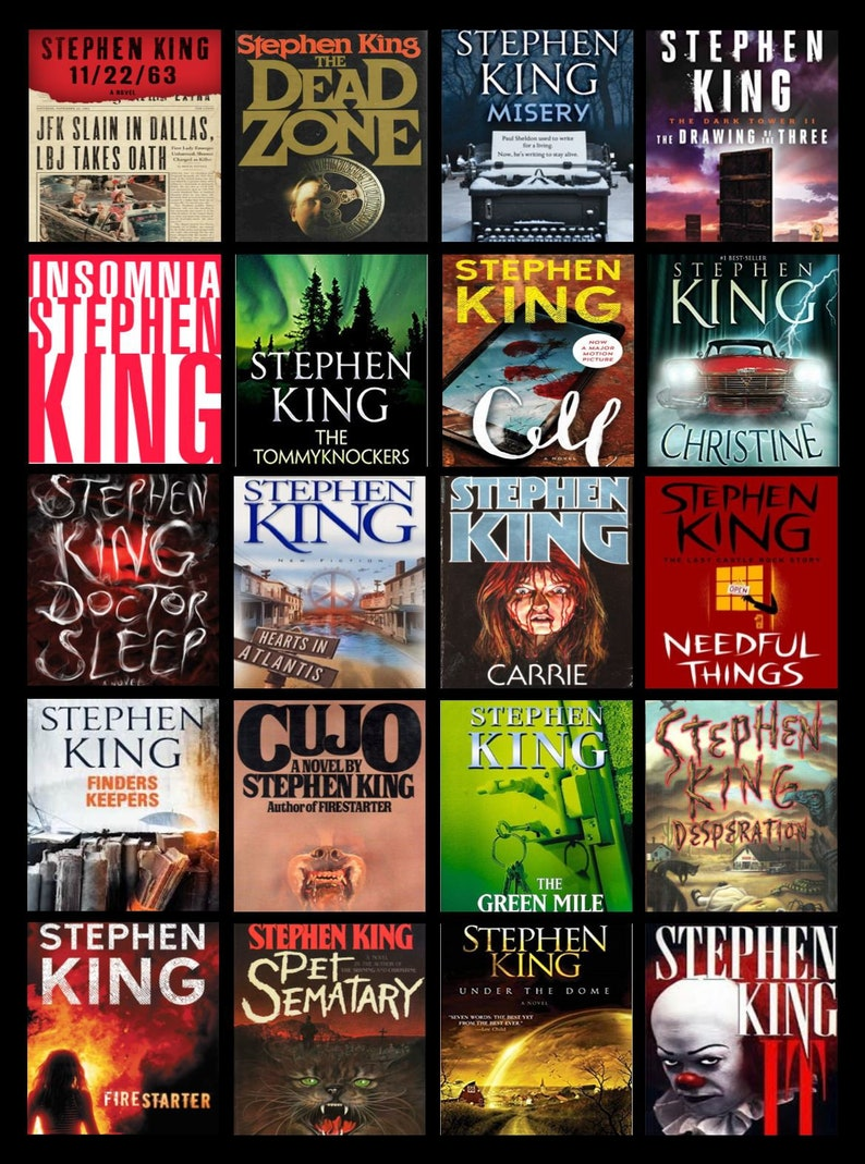 Stephen King Fan Blanket customize with your favorite Stephen image 0