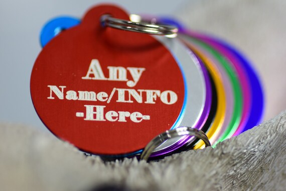 Iron Man I1 Bone Dog Pet Cat ID Tag Custom Picture Image Personalized Key Ring
