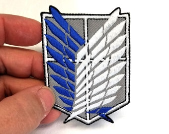 Attack on Titan Investigation Corps Back Of The Body Embroidery Patch Suit Small