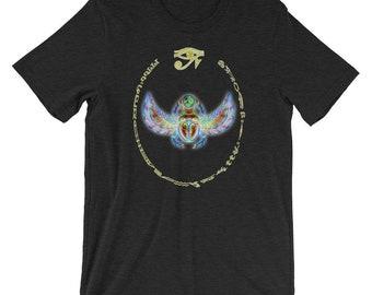 bf5d684824891c Egyptian Scarab Beetle Unisex T-shirt