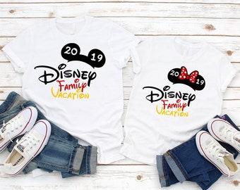280904bb70 DISNEY Vacation Family Shirts, Disney Trip,Disney Custom Shirts, Matching  Disney Family Shirts 2019, T-shirts Disney Vacation B#36