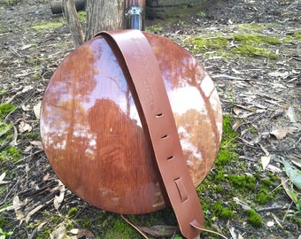 Swagman Leather Australian Handmade Leather Banjo Cradle Strap