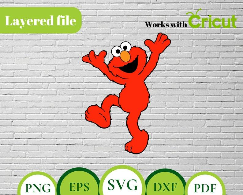 image relating to Elmo Printable titled Elmo LAYERED SVG, Elmo svg, Elmo reduce report, elmo printable, elmo clipart, elmo birthday, elmo print,elmo cricut, elmo sesame, elmo invite