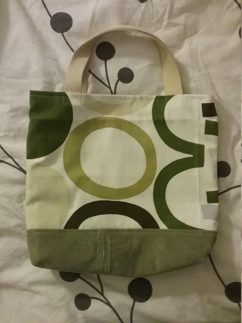 Handbag or hand bag shopping bag or green beach bag