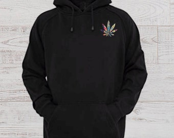 66cc6637 Cannabis Hoodie-420-Marijuana-Pullover-Sweat Shirt-Pot Head Clothing-Weed  Love