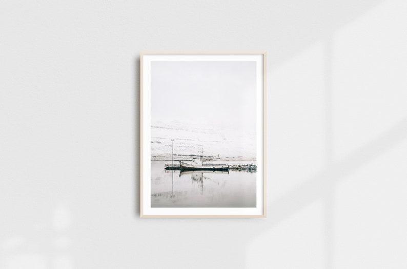 Minimalist Marine Landscape Fine Art Photography Print Nordic image 0