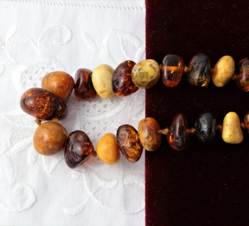 Medicinal Amber Amber Bead Necklace Natural Baltic Amber Amber Necklace