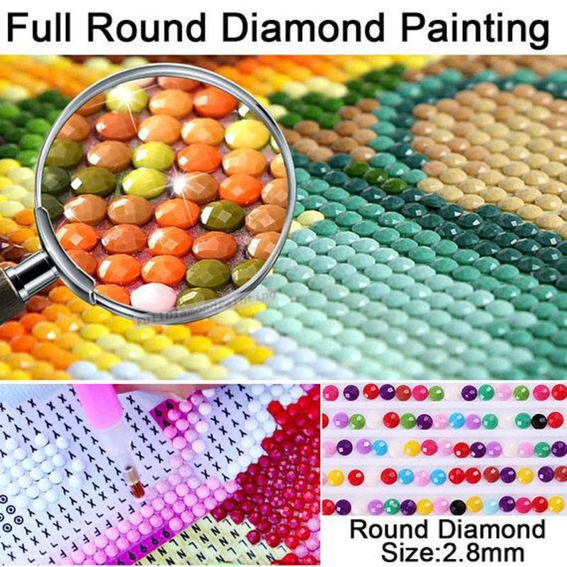5D Diamond Painting Kit Easter Hollday Full Drill Diamond Embroidery Cross Stitch Kit Rhinestone Mosaic Bedroom Wall Home Decoration
