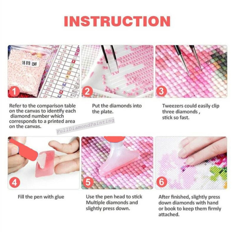 5D Diamond Painting Kit Turtle And Girl Diamond Embroidery Full RoundSquare Drill Cross Stitch Kit Mosaic Making Home Decor Wall Painting