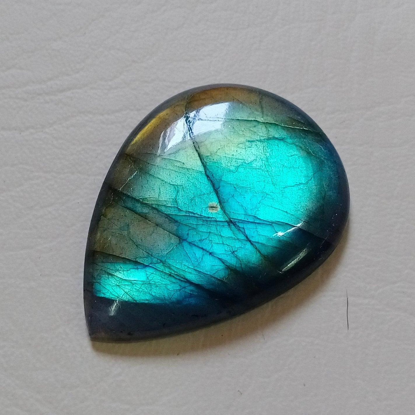 Natural Rare Multi Fire Labradorite Gemstone AAA Quality Stone Pendant Jewelry Labradorite 34X25X7 mm 54 Crt Natural Stone