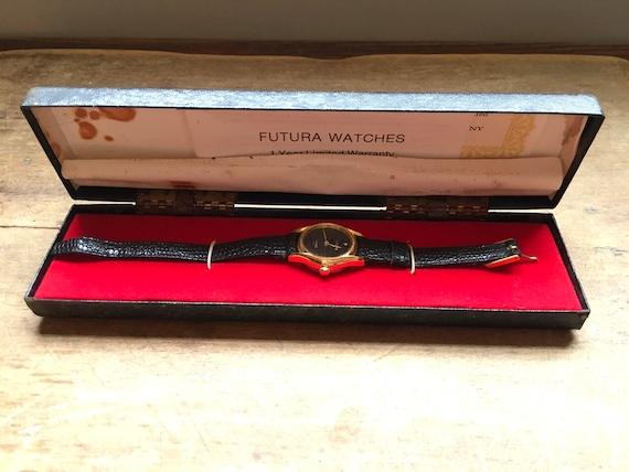 Vintage Futura Diamond Quartz Watch