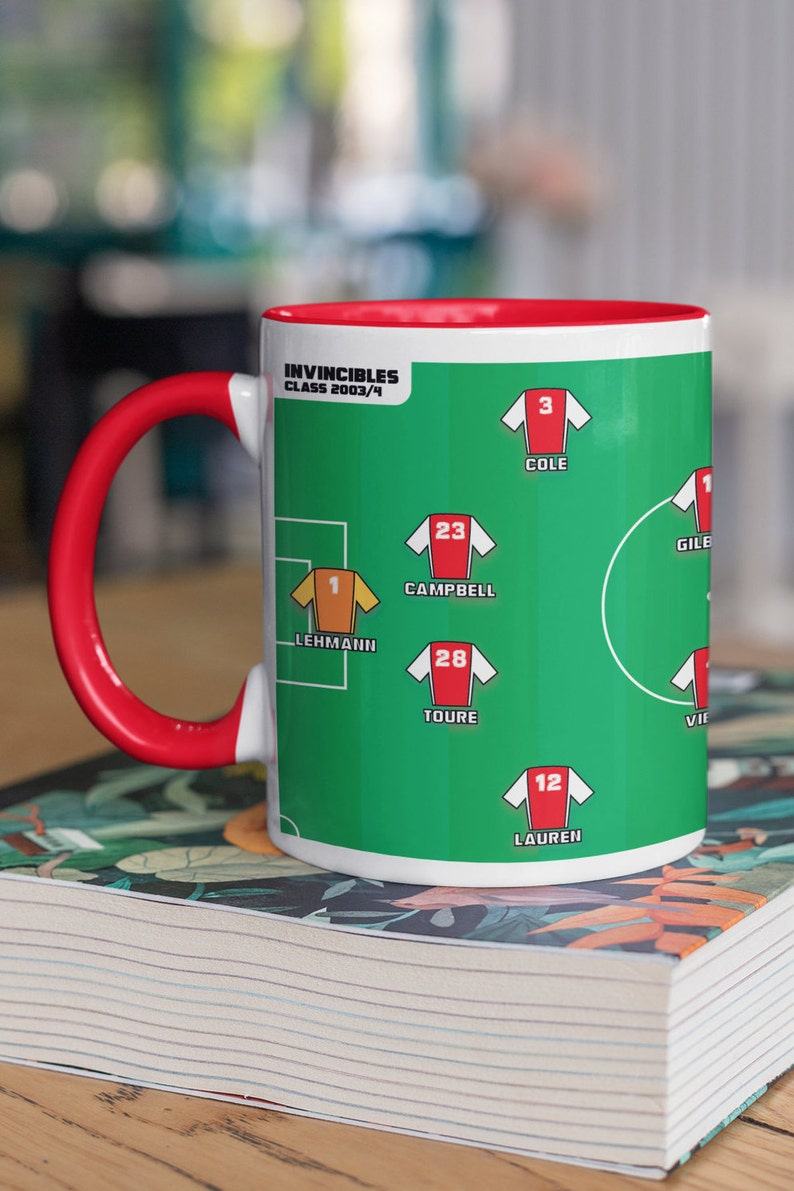 Arsenal 'the INVINCIBLES' Squad Mug   Arsenal Mug  image 0