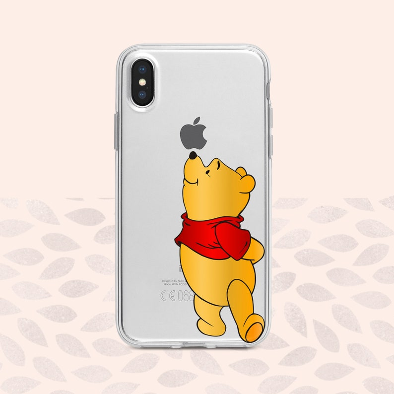 free shipping 25291 c800f Winnie The Pooh iPhone X Case Disney iPhone Xs Max Winnie iPhone 8 Plus  case Disney Apple iPhone XR case Disney case iPhone X iPhone 7 plus